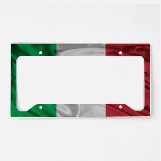 Italians do it best! License Plate Holder