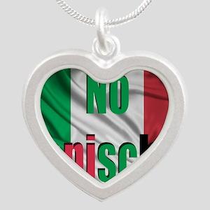 No Capische Silver Heart Necklace