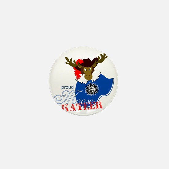 Proud Moosekateer - Light Mini Button