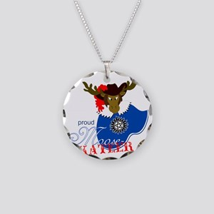 Proud Moosekateer - Light Necklace Circle Charm