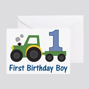 tractor1 Greeting Card