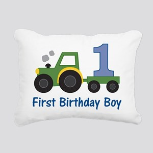 tractor1 Rectangular Canvas Pillow