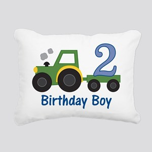 tractor2 Rectangular Canvas Pillow