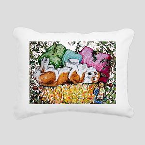 2011 Corgi DBL copyright Rectangular Canvas Pillow