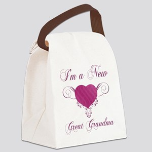 HeartFam_GreatGrandma Canvas Lunch Bag