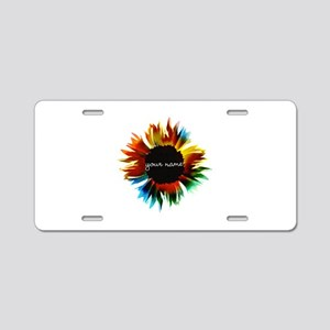 Personalized ME Aluminum License Plate
