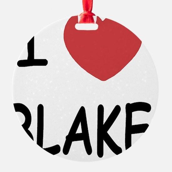 BLAKE Ornament