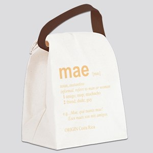 MAE_wht Canvas Lunch Bag