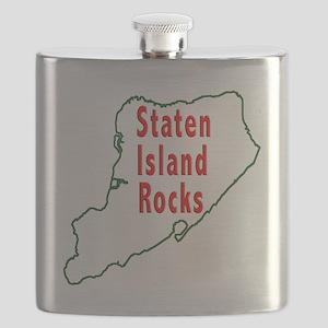 Staten Island Rocks 2 Flask