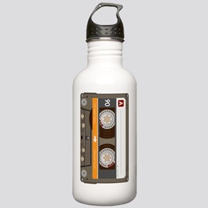 cassette tape vertical Stainless Water Bottle 1.0L
