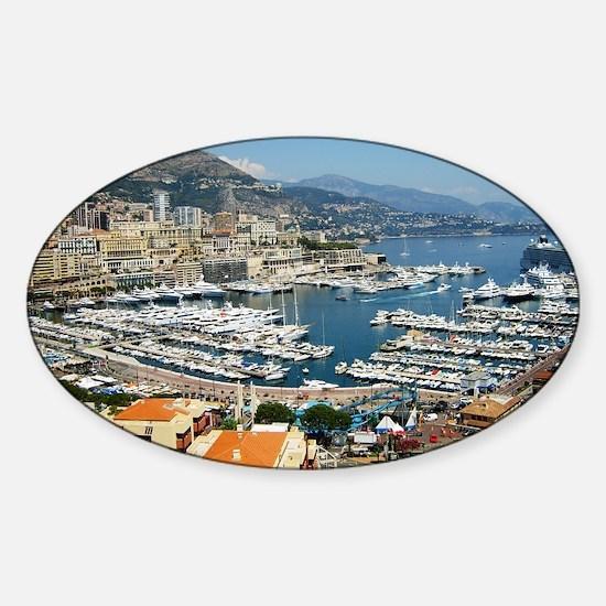 Monte Carlo, France Sticker (Oval)