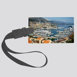 Monte Carlo, France Large Luggage Tag