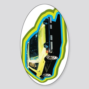 pacer car hi tech Sticker (Oval)