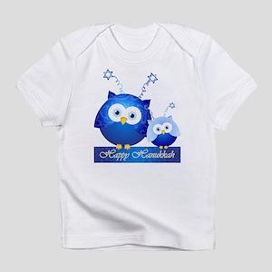 Happy Hanukkah Owls Infant T-Shirt