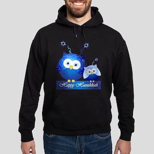 Happy Hanukkah Owls Hoodie