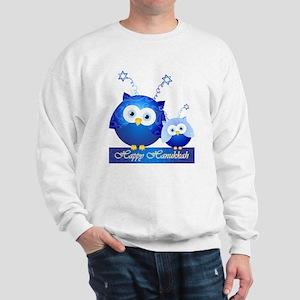 Happy Hanukkah Owls Sweatshirt