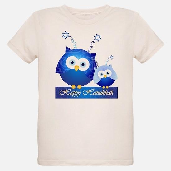Happy Hanukkah Owls T-Shirt