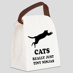 catninjasA Canvas Lunch Bag
