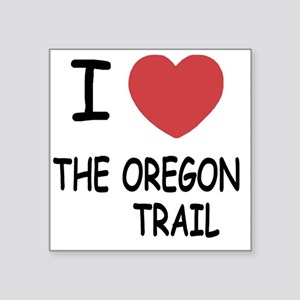 "THE_OREGON_TRAIL Square Sticker 3"" x 3"""