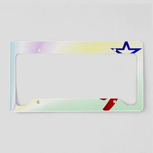4thOfJulyInsideCard License Plate Holder