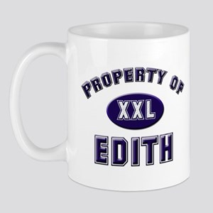 Property of edith Mug
