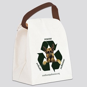 3_t-shirt Canvas Lunch Bag
