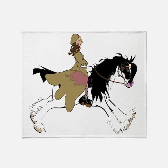 gypsy fly tee Throw Blanket