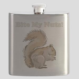 bitemynuts-dark Flask