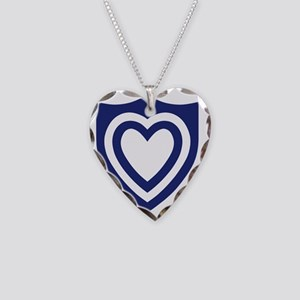 XXIV Corps Necklace Heart Charm