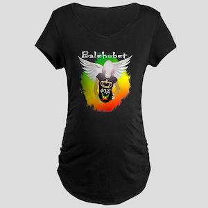 balehubet konjo-angel copy Maternity Dark T-Shirt