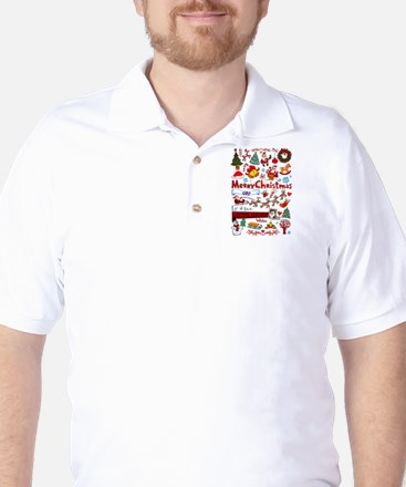 Christmas Golf Shirt
