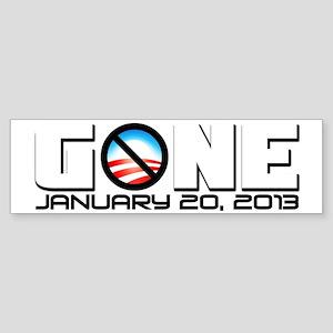 gonefinal6 Sticker (Bumper)