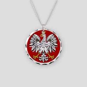 polishfalcon2 Necklace Circle Charm