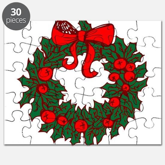 Christmas Wreath Puzzle