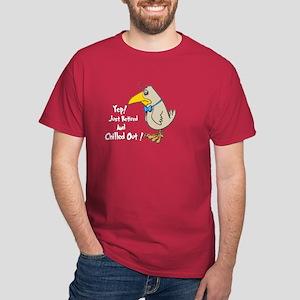 Retirement Blues.:-) Dark T-Shirt