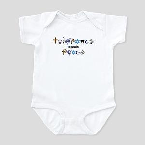 Tolerance = Peace  Infant Bodysuit