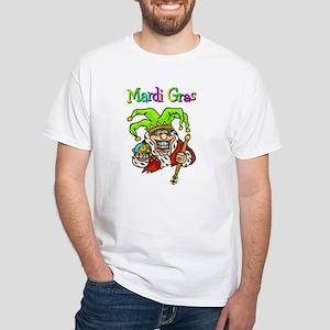 Crazy Jester White T-Shirt