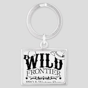 Wild Frontier Art Landscape Keychain