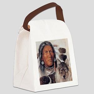 A-Warriors-World Canvas Lunch Bag