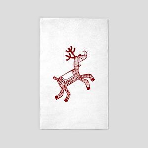Reindeer 3'x5' Area Rug