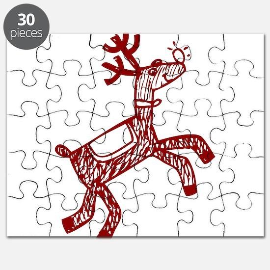 Reindeer Puzzle