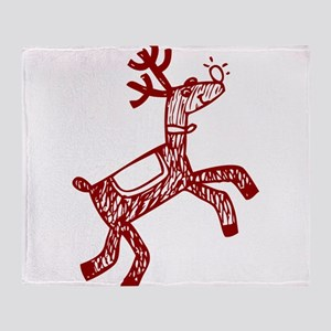 Reindeer Throw Blanket
