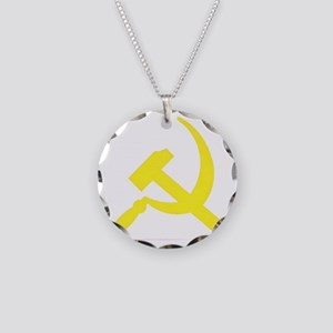 Copy of cccp Necklace Circle Charm