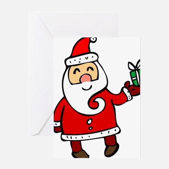 Santa Greeting Cards
