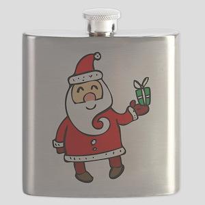 Santa Flask