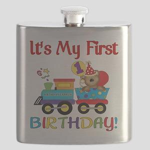 first birthday train Flask