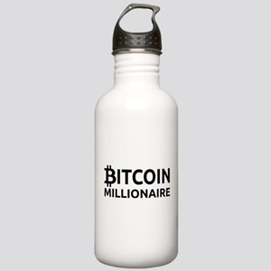 Bitcoin Millionaire Sports Water Bottle