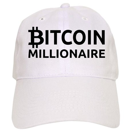 Bitcoin Millionaire Baseball Cap. Bitcoin Millionaire Cap ae32b7c8495d