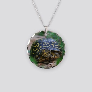 aBox Turtle tile Necklace Circle Charm