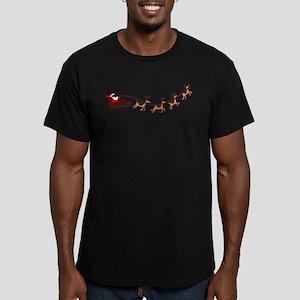 Santa in his Sleigh T-Shirt